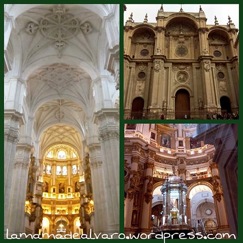 exteriores e interiores de la catedral de granada