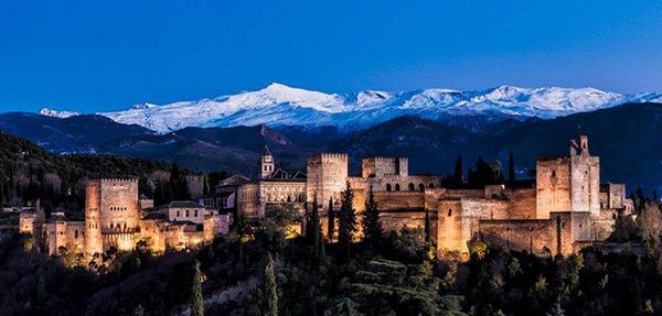 La Alhambra desde San Nicolas.