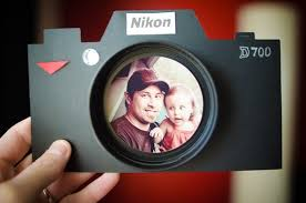 tarjeta para padres fotografos