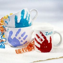 tazas decoradas manos