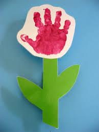 flor hecha con la mano