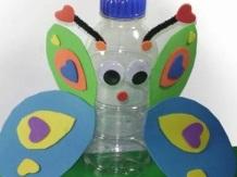 mariposa botella