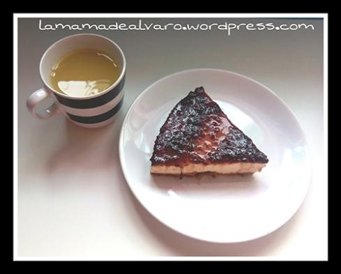 tarta con zumo