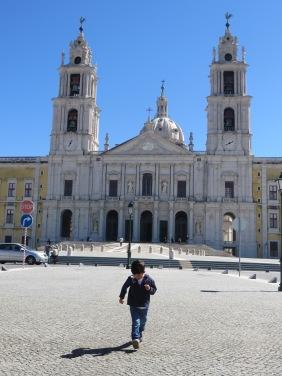 Palacio de Mafra con Alvaro