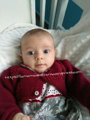 Jorge con tres meses