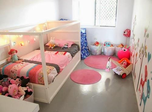 foto de cuna reciclada en cama para niños
