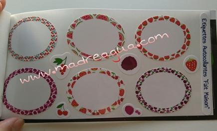 Imagen de etiquetas para mermeladas Petit-Fernand