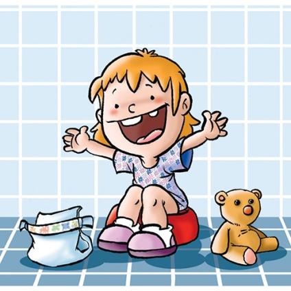 Imagen de un niño en la operación pañal