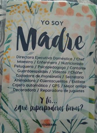 Imagen de lámina de yoqueriba de yo ssoy madre