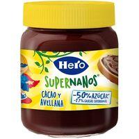 Imagen de crema de cacao hero super nanos