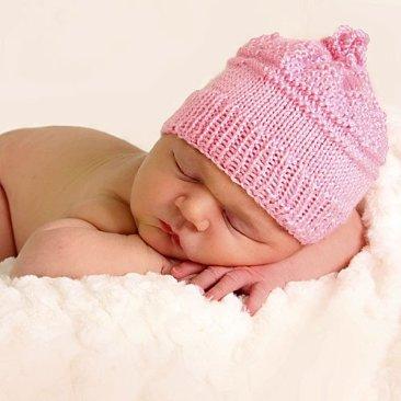 imagen de niña recién nacida