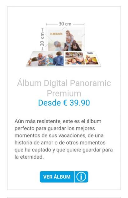 Imagen del álbum digital panoramic premium