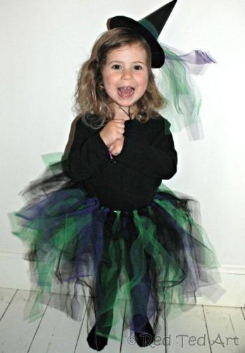 Imagen de disfraz de bruja para Halloween