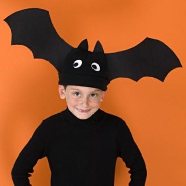 Imagen de un disfraz de murciélago para Halloween