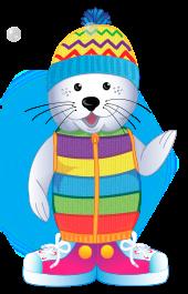 Foca patosa, mascota de educación infantil