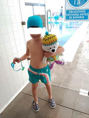 Imagen de Patosa en natación