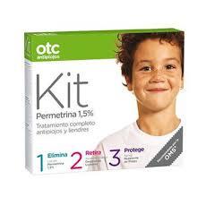 OTC, tratamiento químico contra los piojos