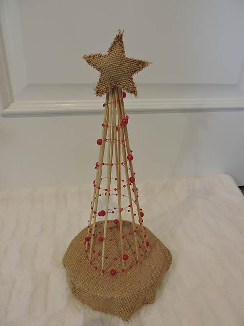 DIY: árbol de navidad con palillos