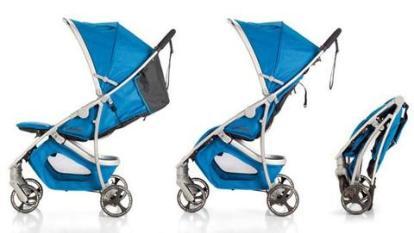 Diferentes posiciones de la silla de paseo Emotion de Baby Home