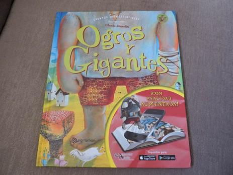 Ogros y gigantes, libro infantil, editorial parramon
