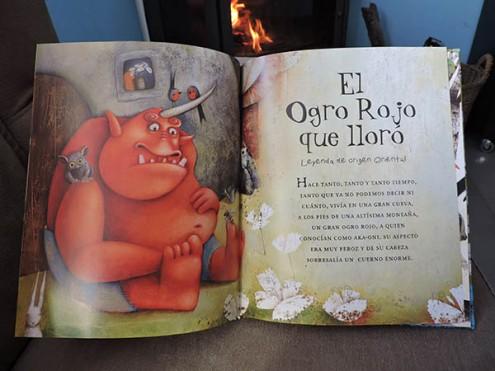 EL ogro rojo que lloró