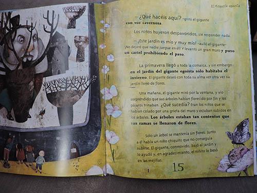 Interior del libro Ogros y Gigantes