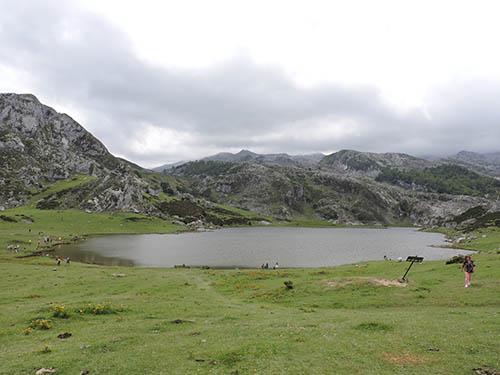 Vistas del lago ercina